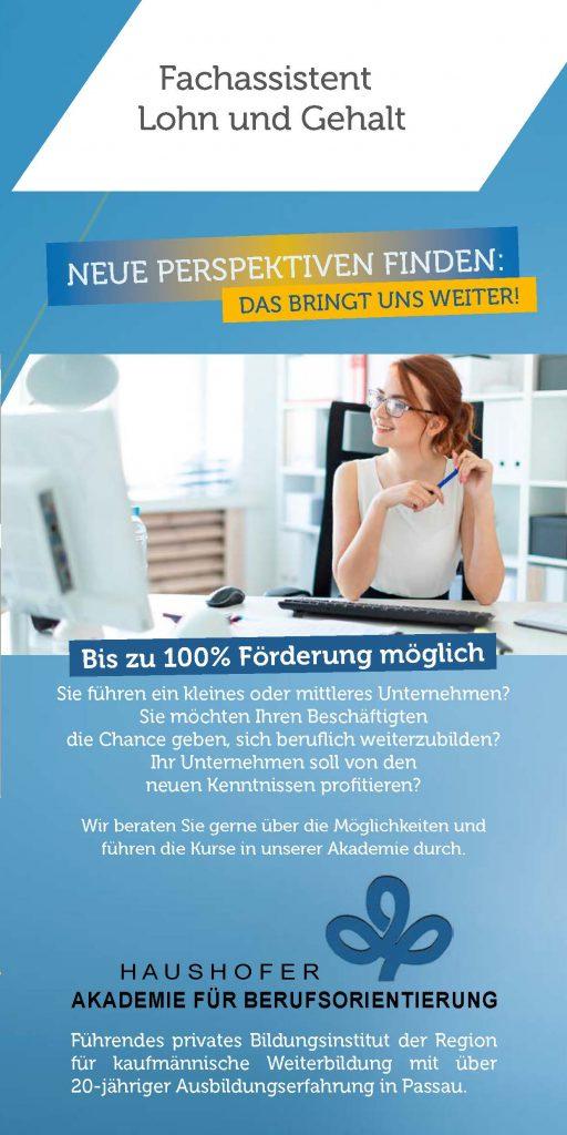 Download Flyer Fachassistent Lohn und Gehalt
